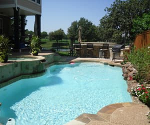outdoor kitchens, swimming pool repair, and swimming pool renovations image