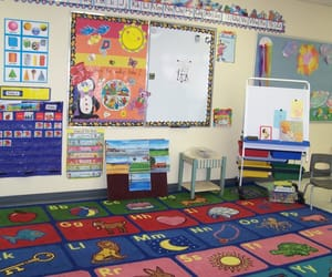 preschool, kidcore, and school image