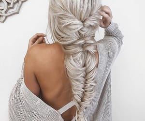 beauty, braid, and trendy image