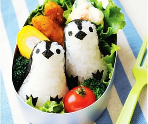 food, japan, and penguin image