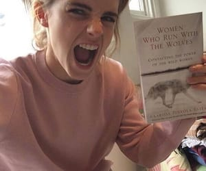 emma watson and book image