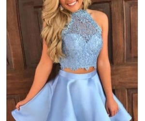 lace prom dress, short homecoming dress, and satin homecoming dresses image