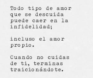 love, frases, and infidelidad image