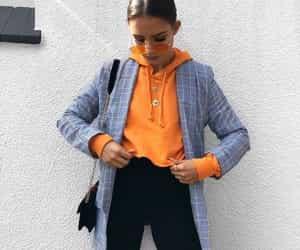 fashion, glasses, and orange image