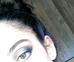 eyeshadow, makeup, and baddies image