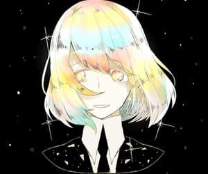 anime girl, fantasy, and gems image