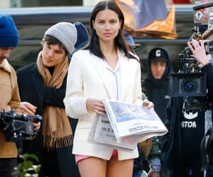 Adriana Lima, candids, and fashion image