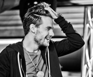 beautiful, black and white, and smile image