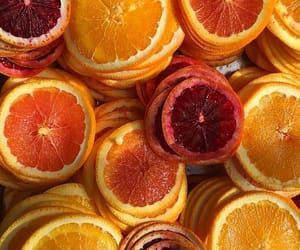 orange, theme, and food image