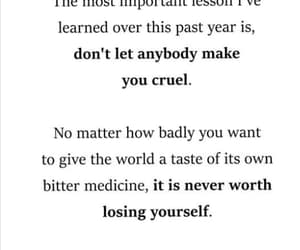 be yourself, words, and cruel image