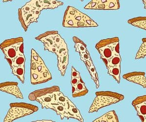 pizza, food, and background image