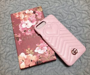 case, girl, and pink image