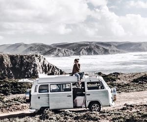 travel, van, and portugal image