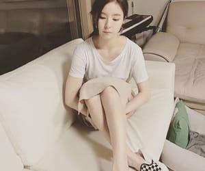 hoop earrings, korean, and korean actress image