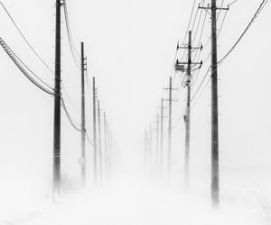 black and white, japan, and landscape image