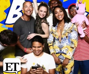 cast, danielle panabaker, and DC image