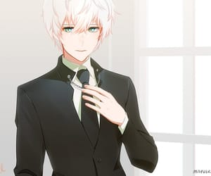 unknown, mystic messenger, and anime image