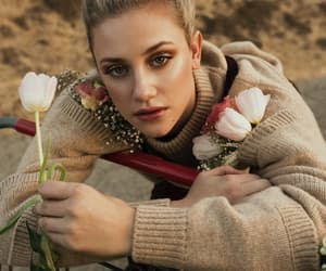 flowers, riverdale, and lili reinhart image