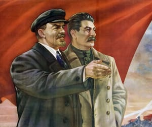 communism, USSR, and lenin image