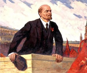 lenin, old, and revolution image