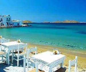 Greece, greek islands, and greek summer image