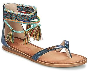 pompon, sandales, and chaussures femme image