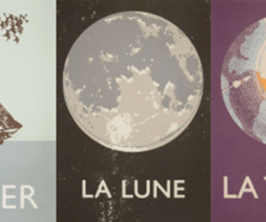 lune, mer, and moon image