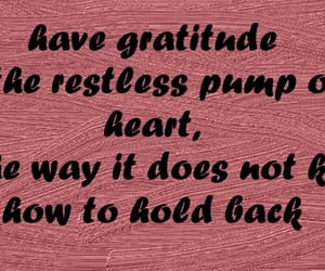 grateful, gratitude, and hold image