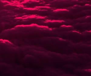 burgundy, glow, and neon image