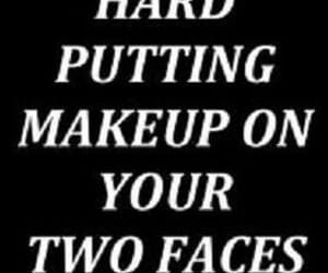 makeup, quote, and text image