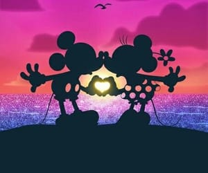 disney, love, and wallpaper image