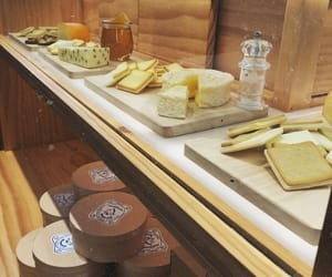 cheese, food, and vintage image