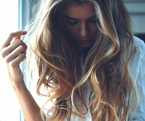 blond and girl image