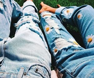 jeans, style, and summer image