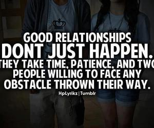Relationship, couple, and patience image