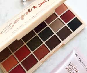 blush, Nude, and eyeshadow palette image