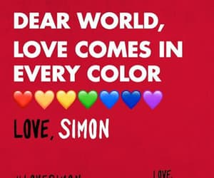 gay, lgbtq, and love simon image