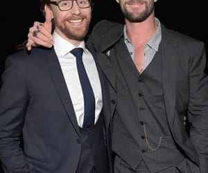 new, chris hemsworth, and tom hiddleston image