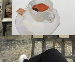 aesthetic, art, and painting image