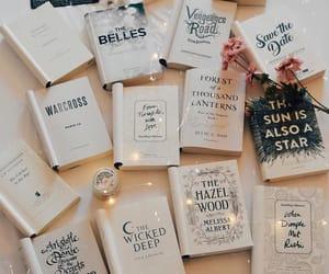books, girl, and inspiration image