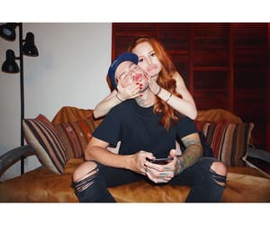 travis mills, 2017, and madelaine petsch image
