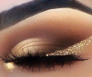 beauty, eyeshadow, and glam image