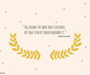 quotes, child, and the little prince image