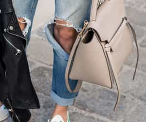 bag, beige, and celine image