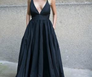 dress, prom dress, and formal occasion dress image