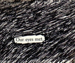 love, eyes, and quotes image
