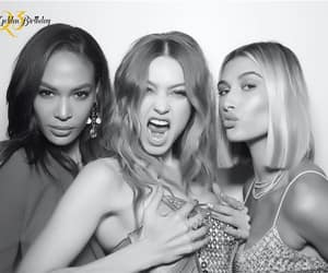 models, joan smalls, and gigi hadid image