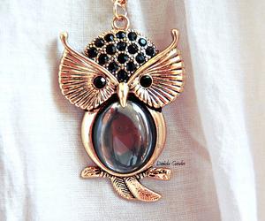 coruja, neclace, and owl image