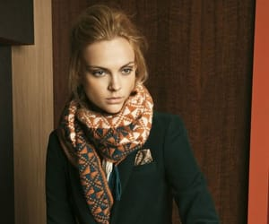 classic, jacket, and scarf image