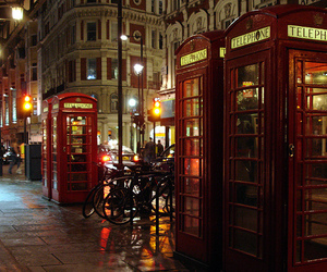 london, england, and telephone image